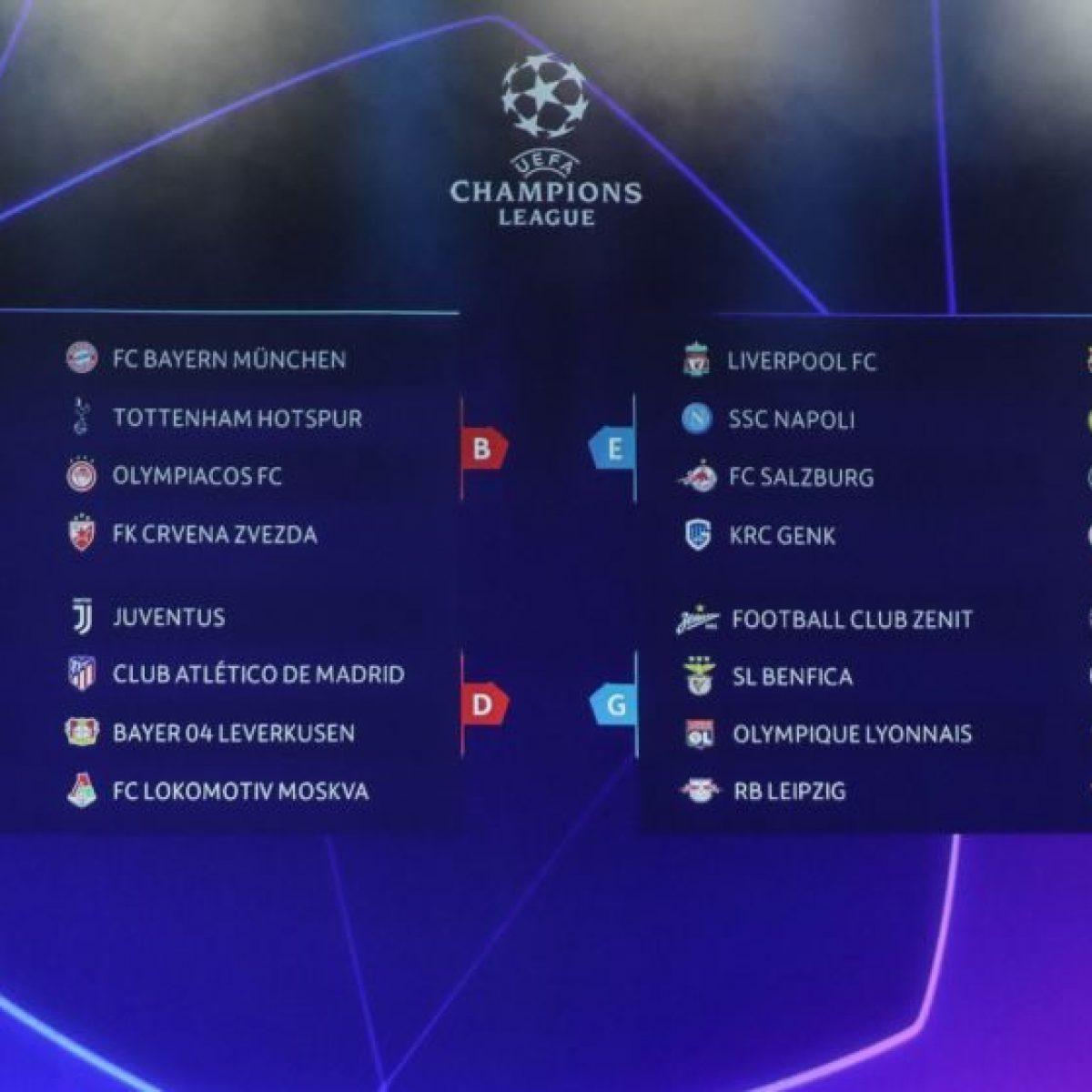 Juventus Calendario Champions.Champions Juve Napoli Inter Atalanta Su Canale 5 Alle