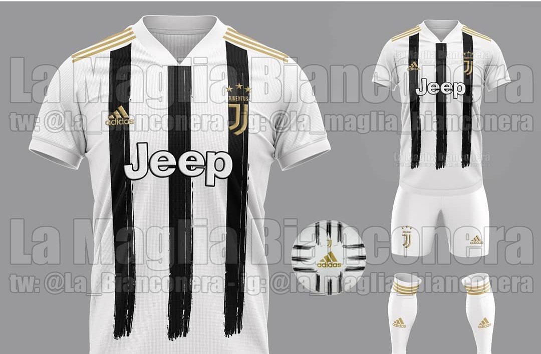 Juventus, nuove maglie 2020/2021: le prime indiscrezioni, tornano ...