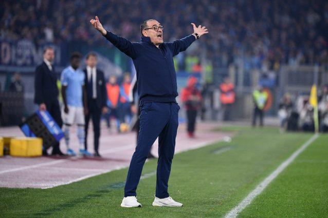 Juve |  il malessere di Sarri nei confronti degli arbitri |  lamentele in Italia e in Europa
