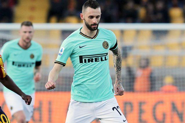 Inter, allarme alla caviglia per Brozovic: il croato ha lasc