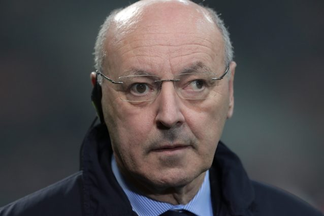 Mercato Inter, Marotta conferma la rinuncia all'attaccante: