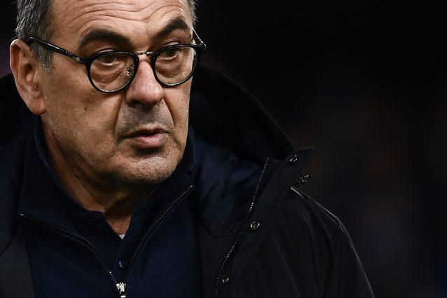 """Juventus, Sarri: """"La squadra è in crescita. Paura dell'Inter?Ho paura per cose più serie"""""""