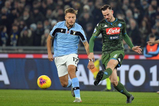 Napoli Lazio, i diffidati in Coppa Italia: due giocatori ris