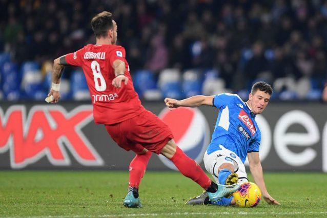 Napoli: Demme debutta da mezzala nel 4 4 2, la Fiorentina vo