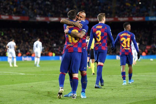 """Arturo Vidal, il tacco al volo per Messi """"cancella"""" l'affare"""