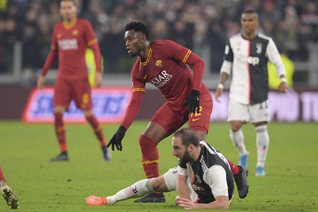 Roma, infortunio al ginocchio per Diawara: rischia per il de