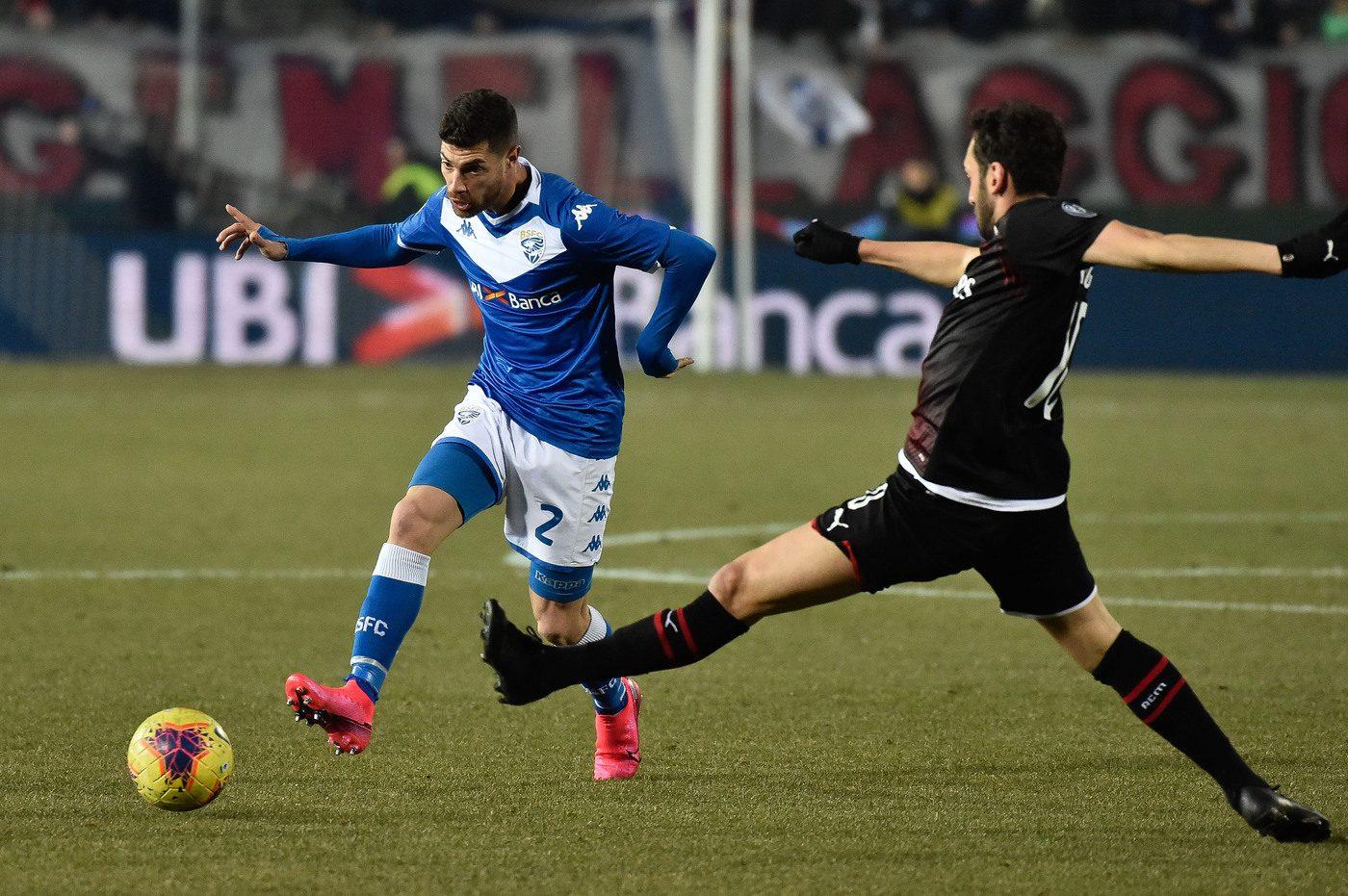 Brescia-Milan moviola: due gol giustamente annullati, manca un ...
