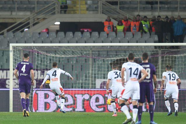 Fiorentina Genoa 0 0: Criscito sbaglia il primo rigore in ca