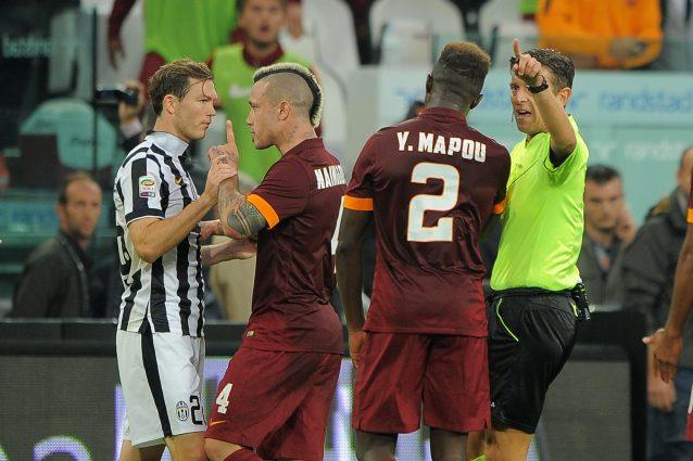 Coppa Italia |  Juventus-Roma a Rocchi |  l'ultimo precedente 5 anni fa |  tra le polemiche
