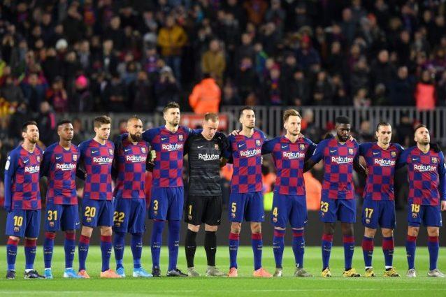 Barcellona, minuto di silenzio in memoria della madre di Ser