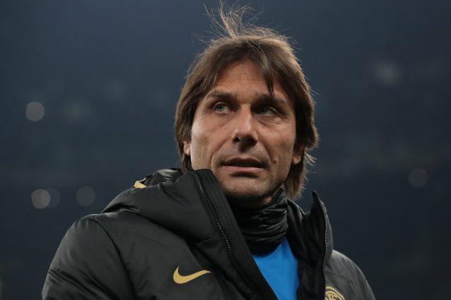 Conte già in tensione per la Juventus: abbandona l'intervist