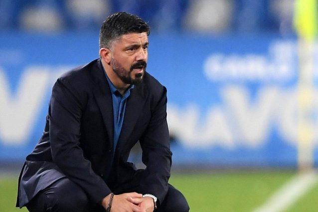 Napoli, con Gattuso non è arrivata la scossa: 4 sconfitte in