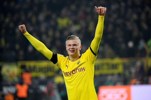 Borussia Dortmund, Haaland è una macchina da gol: una rete o
