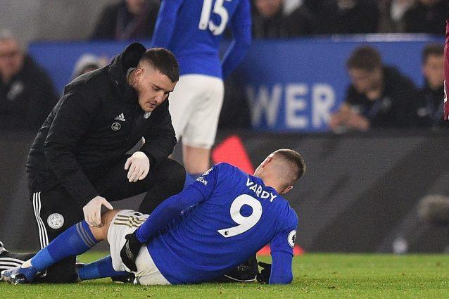 Premier League, serio infortunio per il bomber del Leicester