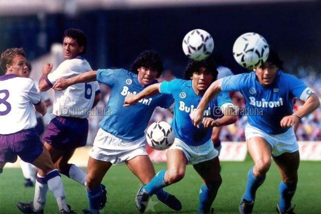 """Diego Maradona prova a scuotere il Napoli: """"Gioca con l'anim"""