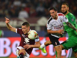 LIVE Milan Torino Coppa Italia, formazioni ufficiali e risul