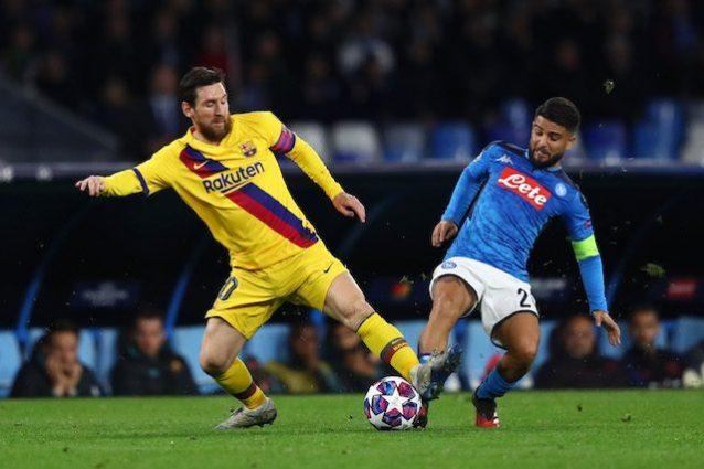 Le pagelle di Napoli Barcellona 1 1: Mertens illude, poi Gri