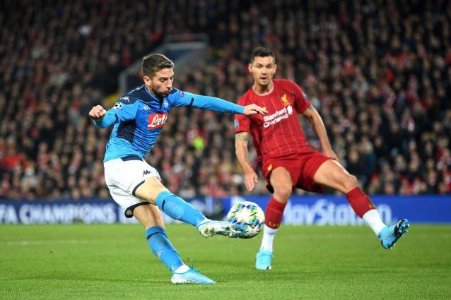 Dries Mertens asso di Champions: il 50% dei gol del Napoli è
