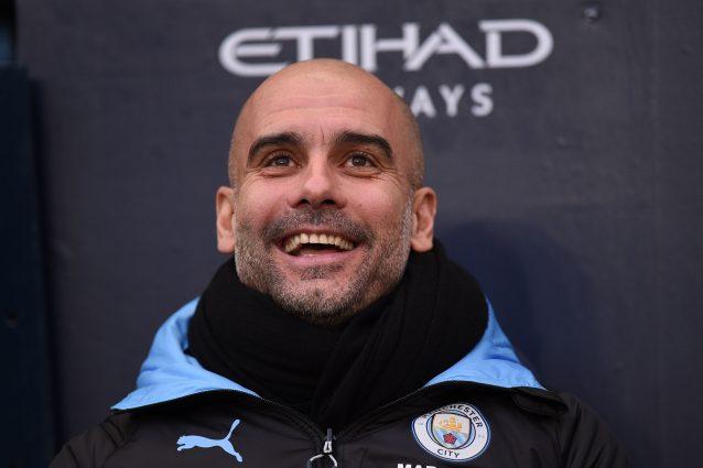 """L'annuncio di Guardiola: """"Resto al Manchester City al 100%,"""