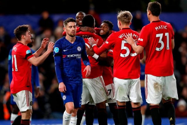 Chelsea Manchester United 0 2: Martial, Maguire (e il Var) s