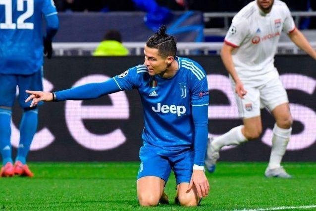Juventus, zero tiri in porta a Lione: il manifesto di un fal