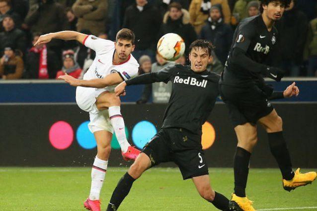 Eintracht Francoforte agli ottavi di Europa League, André Si
