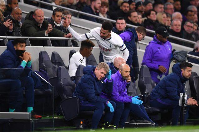 Tottenham, Dele Alli infuriato per la sostituzione rompe una