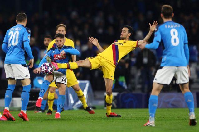 """Barcellona, Busquets critica Abidal dopo Napoli: """"Abbiamo un"""