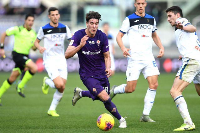 """Fiorentina, appuntamento col mito per Vlahovic: """"Chiederò la"""