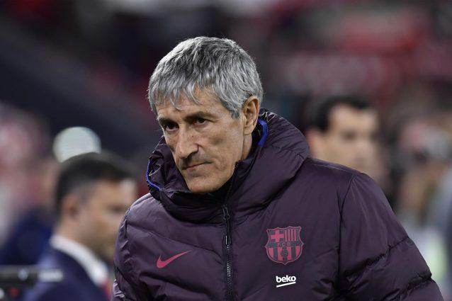 """Barcellona, Quique Setién: """"Con il Napoli sono sicuro che sa"""