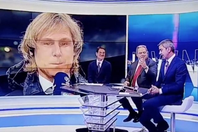 """Costacurta ricorda a Nedved la finale di Champions non giocata nel 2003: """"Noi del Milan esultammo"""""""