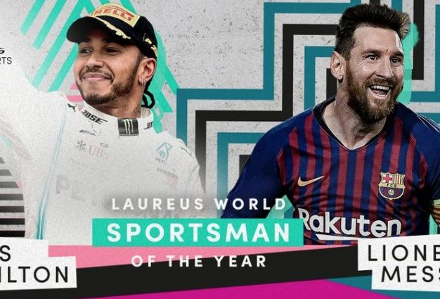 Laureus World Sports Awards, Messi e Hamilton premiati come