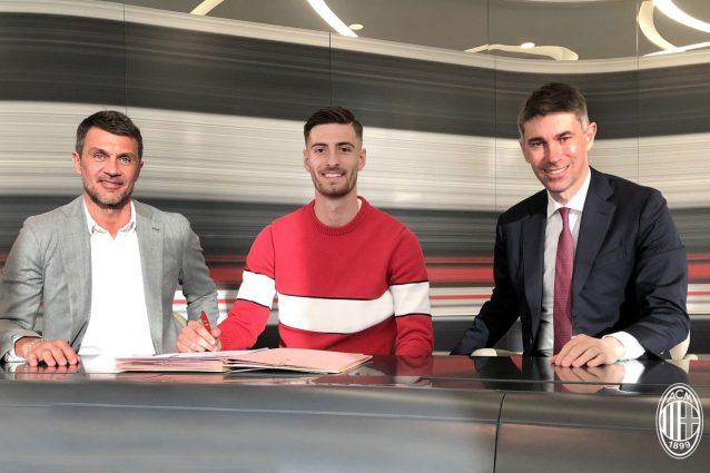 Milan, ufficiale il rinnovo di Matteo Gabbia fino al 2024