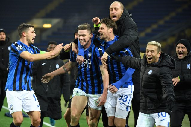 Atalanta, l'accesso ai quarti di Champions League vale 10,5