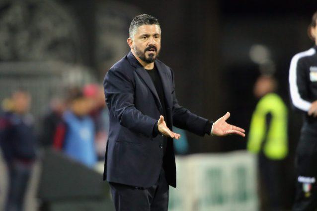 """Napoli, Gattuso: """"Non mi fido, serve continuità. Niente gior"""