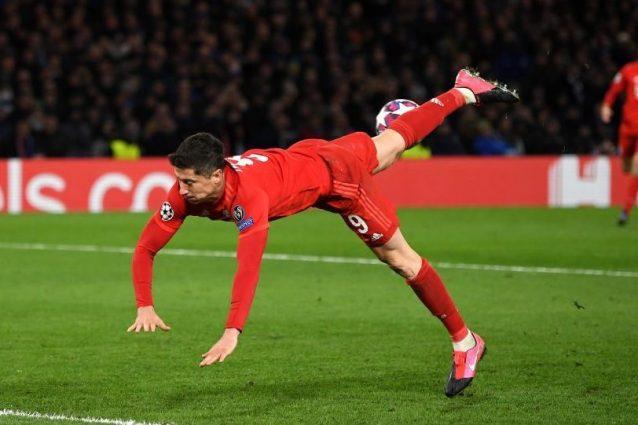 Infortunio Lewandowski: tibia fratturata, il Bayern lo perde