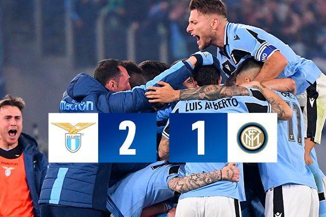Lazio-Inter 2-1, Milinkovic fa volare i biancocelesti al 2° posto. Young ...