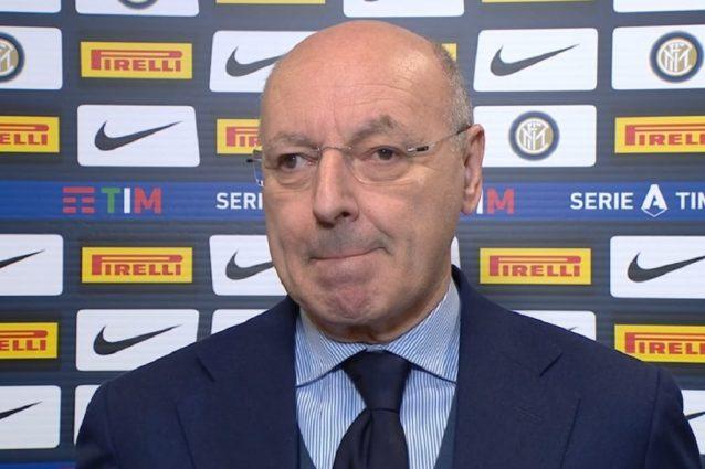 """Inter, Marotta risponde a Messi su Lautaro Martinez: """"Forse"""