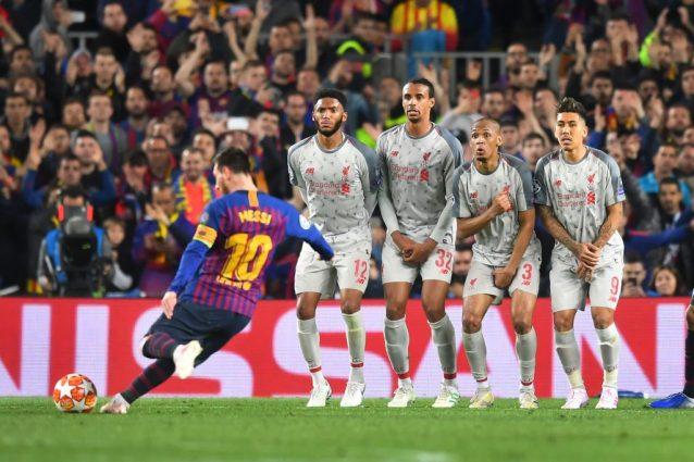 """L'effetto """"Magnus"""" di Messi, ecco come calcia la punizione p"""