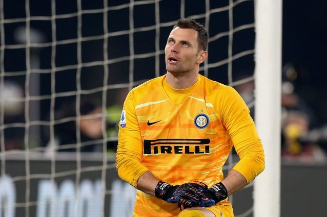 Padelli sbaglia anche con la Lazio, quanto manca Handanovic