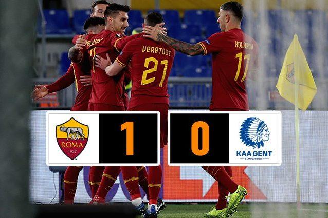 Europa League, Roma Gent 1 0: decide un gol di Carles Perez