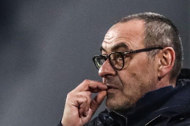 """Juve Inter a porte chiuse, Sarri non ci sta: """"Allora anche l"""