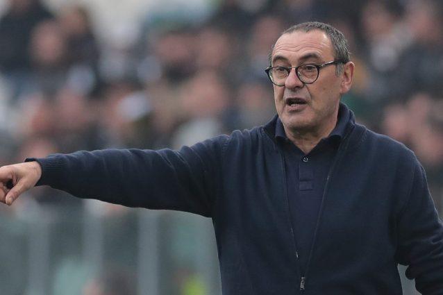 """Sarri: """"Alla Juve non ho stravolto la mia filosofia di gioco"""