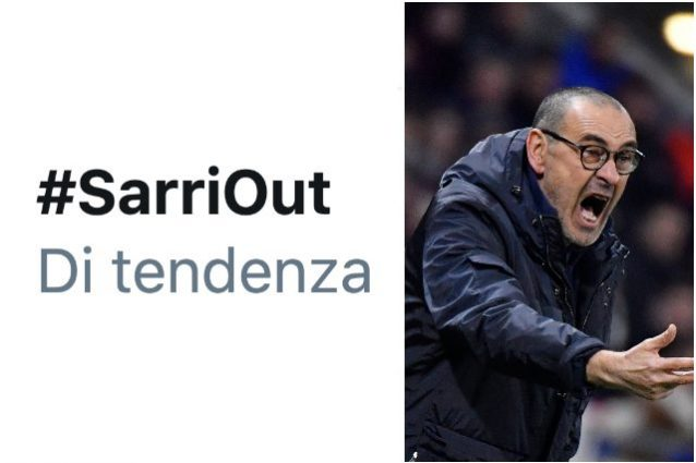 Juve ko a Lione ed esplode già nel primo tempo l'hashtag #SarriOut