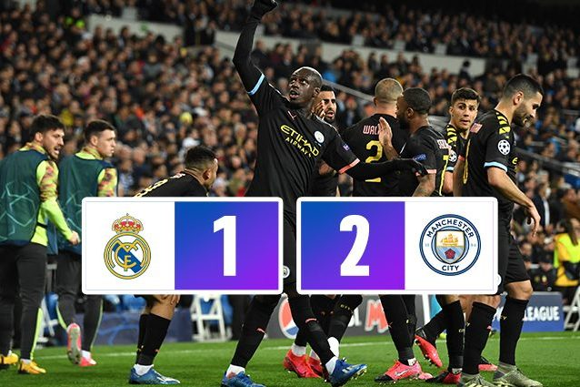 Real Madrid Manchester City 1 2: Guardiola sbanca il Bernabe
